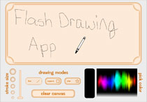 Screenshot of Drawing Application