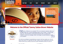 Screenshot of Tammy Sutton-Brown